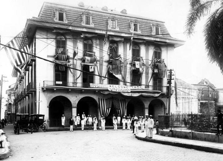 El antiguo grand hotel de casco viejo panam vieja escuela for Oficina del casco antiguo