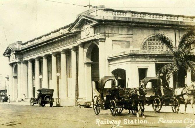 La antigua estación del ferrocarril de la Ciudad de Panamá