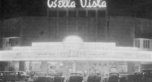 El desaparecido teatro Bella Vista